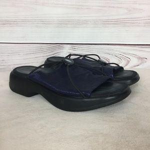 Dansko Woven Slide Sandals